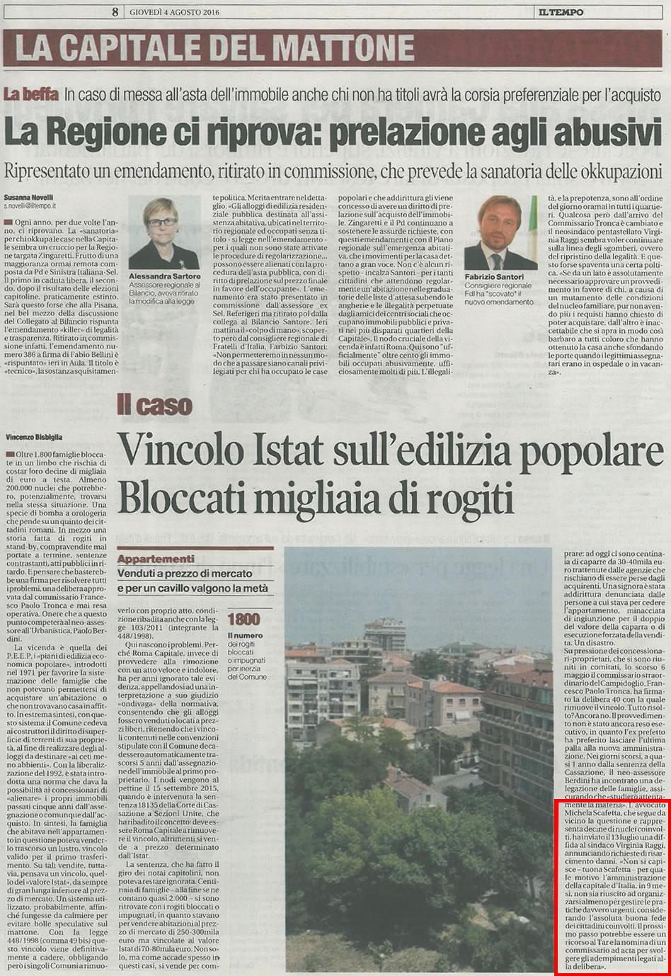 Roma capitale vincolo istat edilizia convenzionata for Invertire piani di una casa di una storia e mezzo